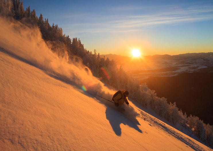 Skiing in Jackson Hole