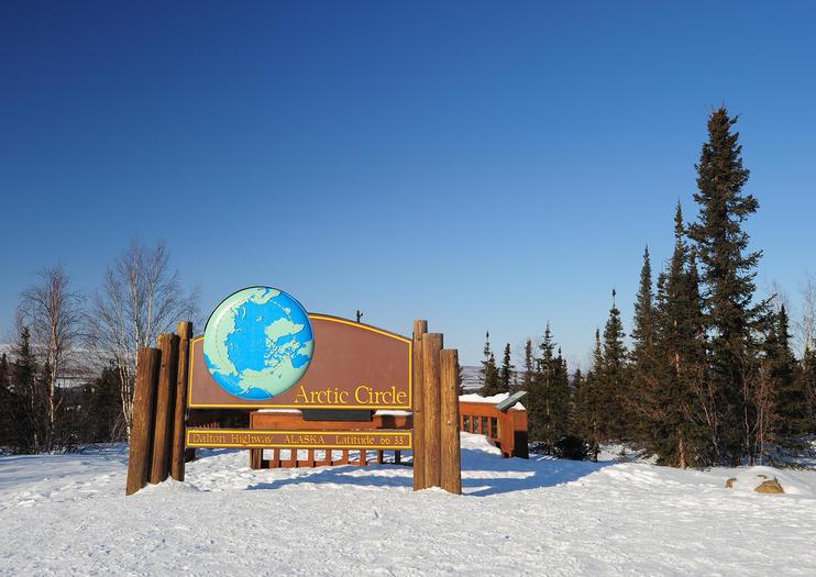 Alaska Latitude Map, Arctic Circle Tours From Fairbanks, Alaska Latitude Map