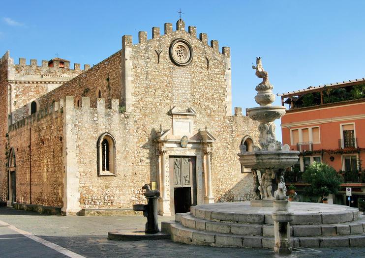 Taormina Duomo and Piazza
