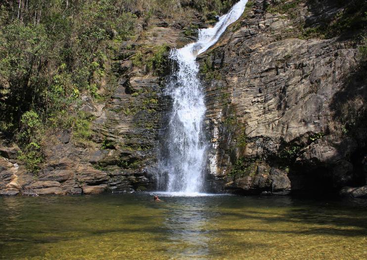 Boca da Onca Waterfall