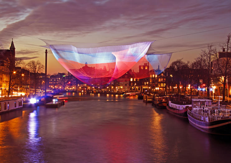 Experiencing the Amsterdam Light Festival