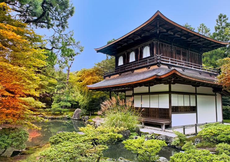 Templo Ginkaku-ji (Pabellón de Plata)