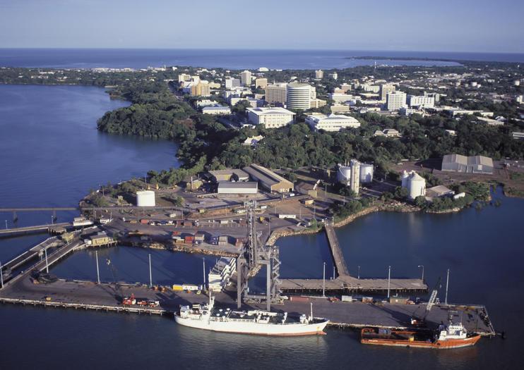 Port de croisière de Darwin
