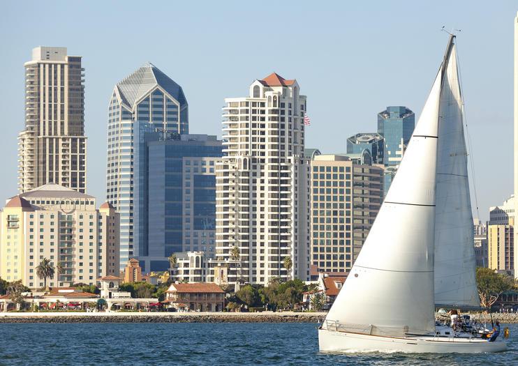 Le port de plaisance San Diego