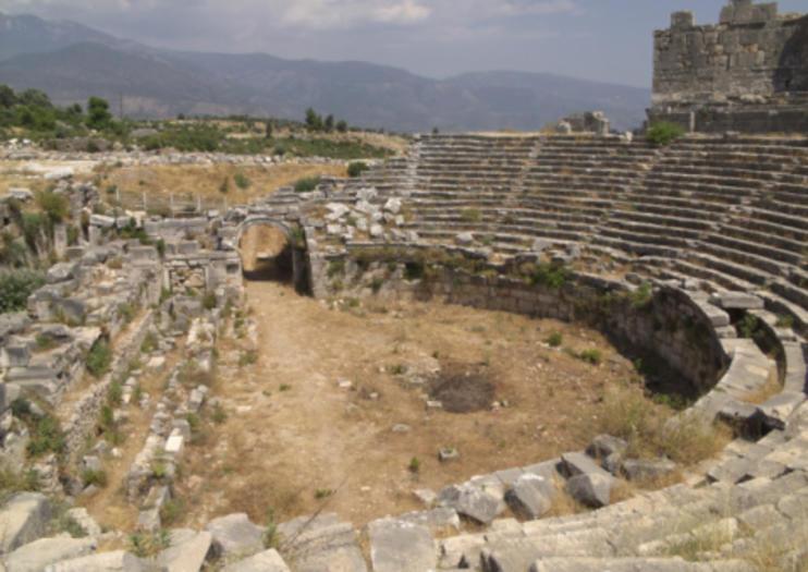 Fethiye Roman Theater (Telmessos Theatre)