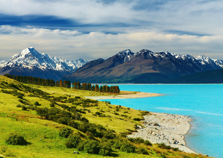If You Ve Ever Seen A Picture Of Lake Pukaki Can Be Forgiven For Thinking There S No Way That This Could Possibly Real