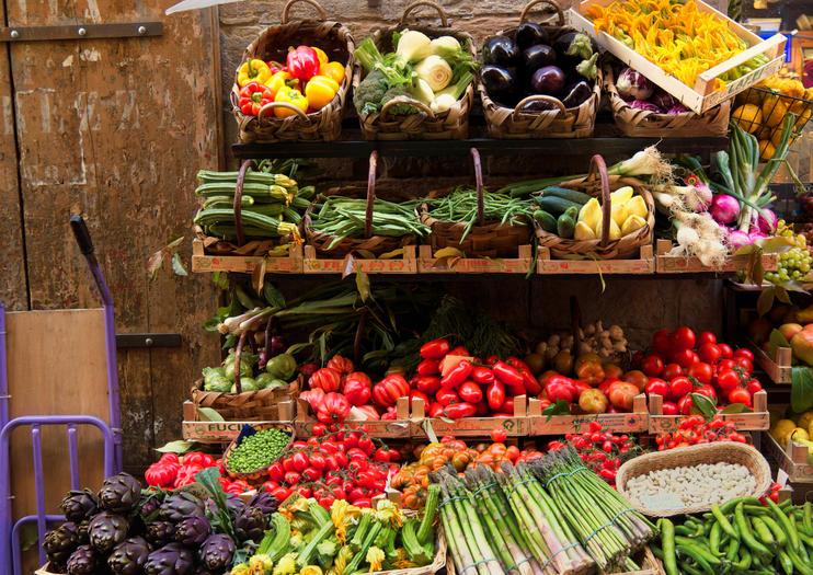 Image result for Sant'Ambrogio food market, Florence.