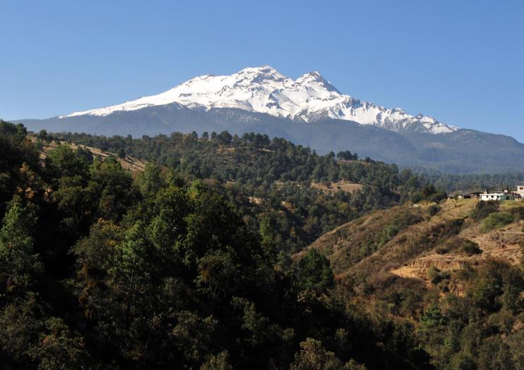 Vulcano Iztaccihuatl