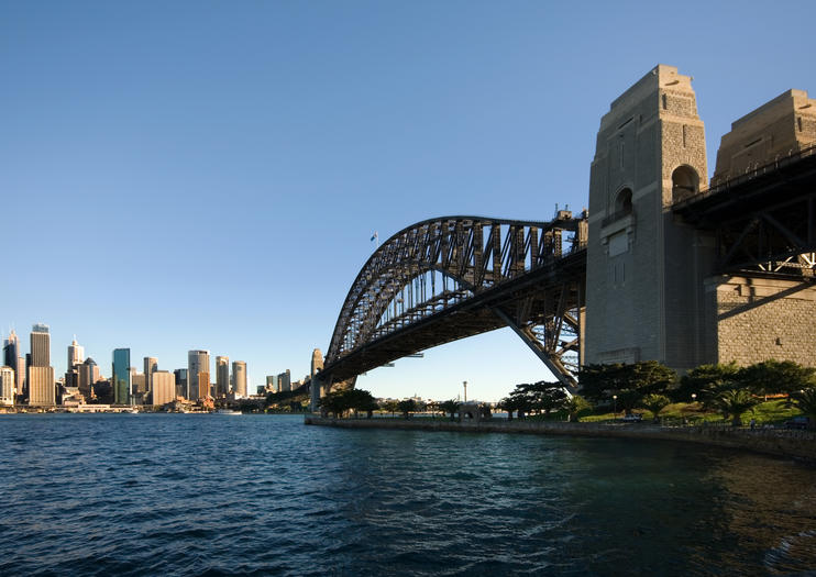 Sydney Harbour Bridge Pylon Aussichtspunkt