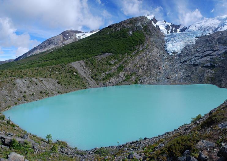 Huemul-Gletscher