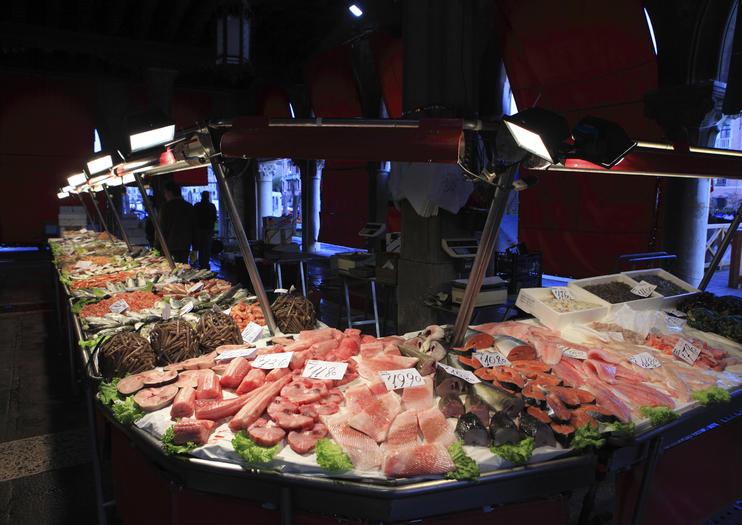 Marché aux poissons du Rialto