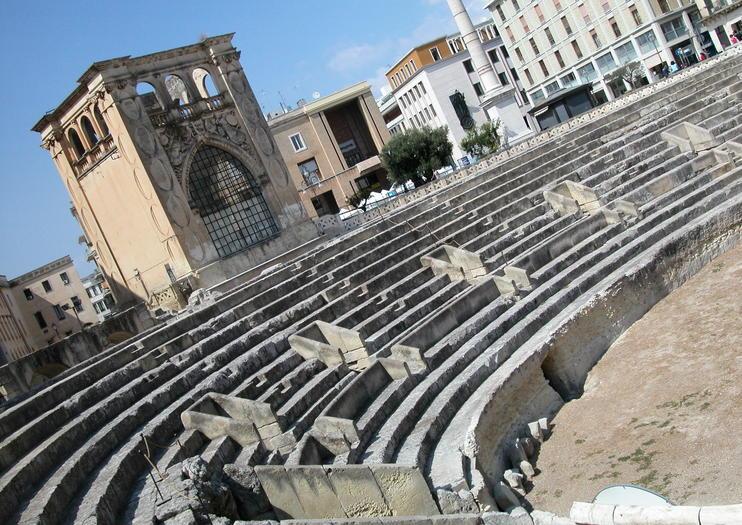 Amphithéâtre romain de Lecce