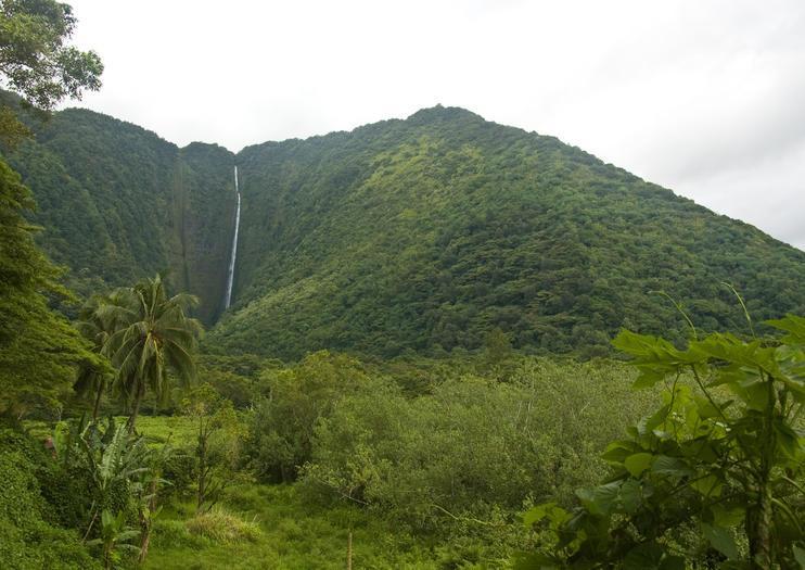 Hi'ilawe Wasserfall