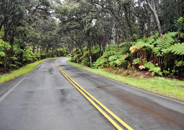 Route de l'anneau des Cratères
