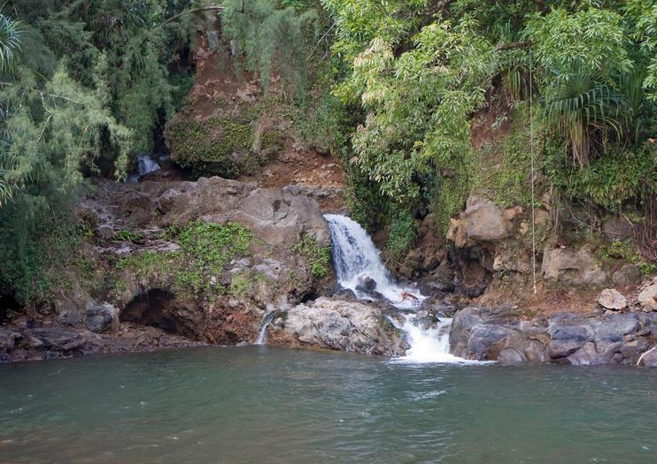 Kolekole Wasserfall