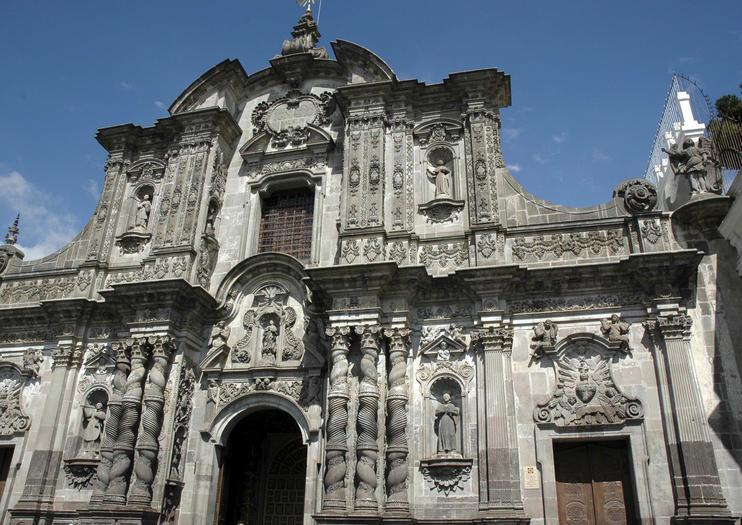 Church of the Society of Jesus (Iglesia La Compañía de Jesús)