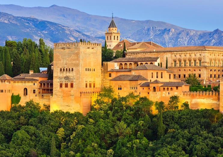 Visita a Granada e Alhambra da Malaga