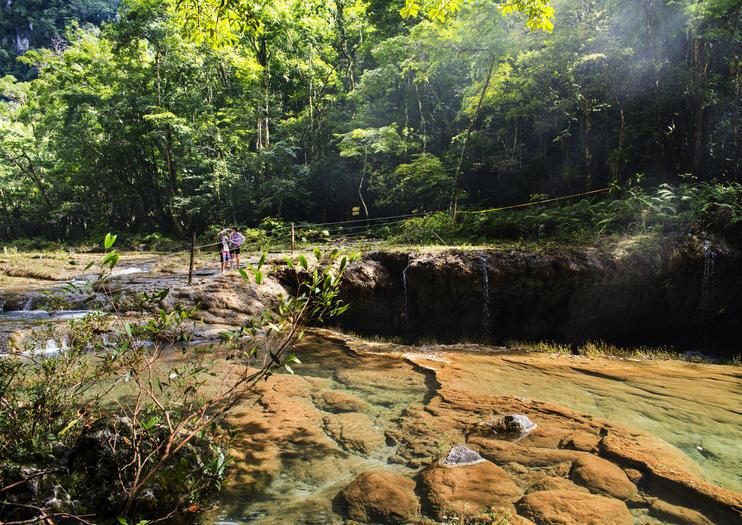 Lanquin Caves