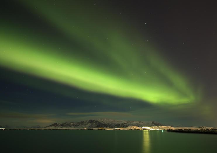 Aurora Reykjavik (Luces del Norte Centro)