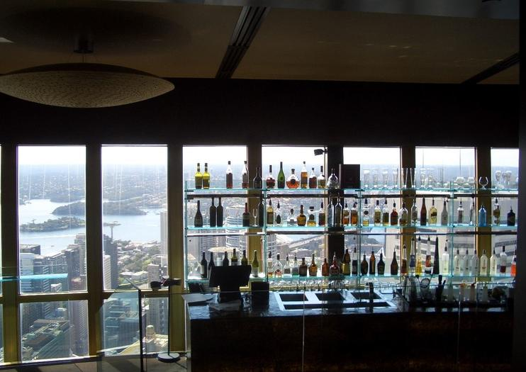 360 Bar and Dining de la Sydney Tower