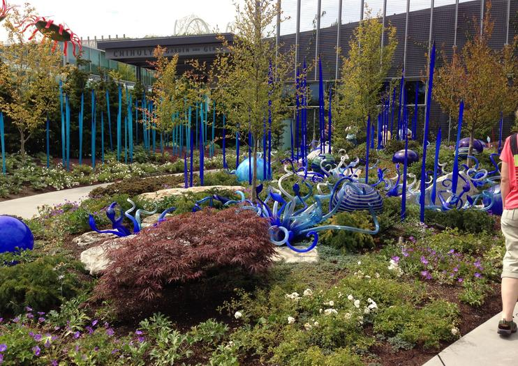 glass artist dale chihuly famous for his whimsical sculptures was born in tacoma but has left his mark on seattle fans can revel in his colorful - Glass Garden Seattle