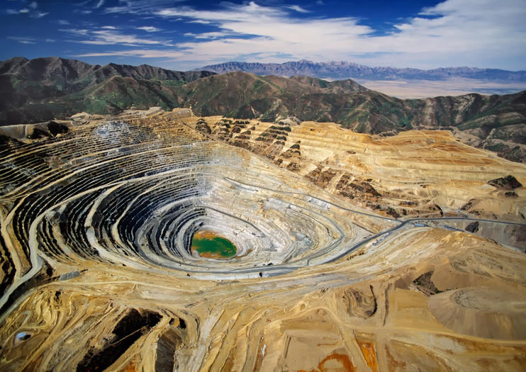 Kennecott Copper Mine (Bingham Canyon Mine)