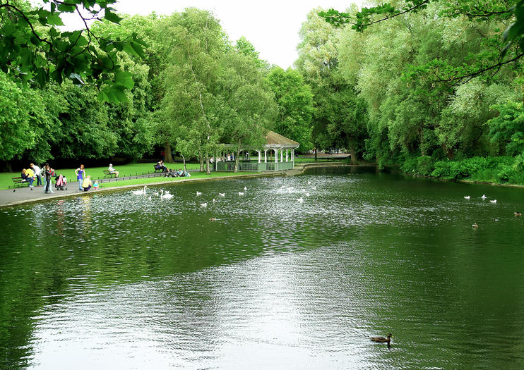 Parque St Stephen's Green
