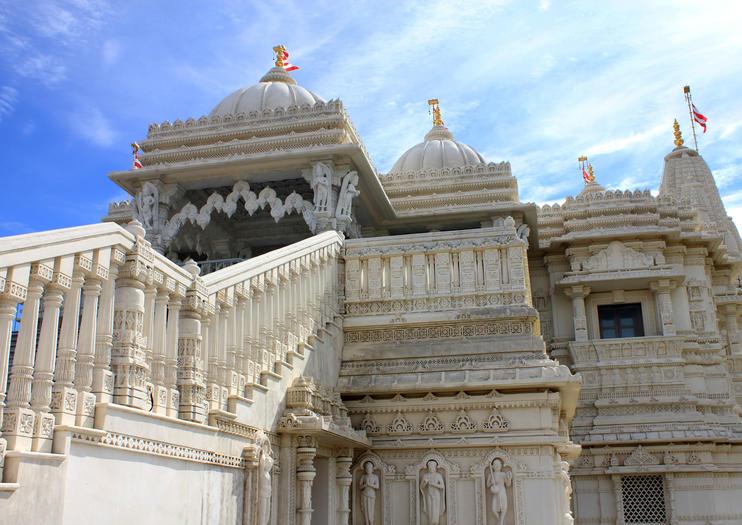 Il Tempio indiano di Shri Swaminarayan Mandir
