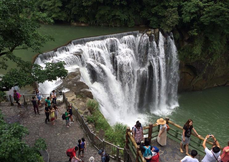 Shifen-Wasserfall