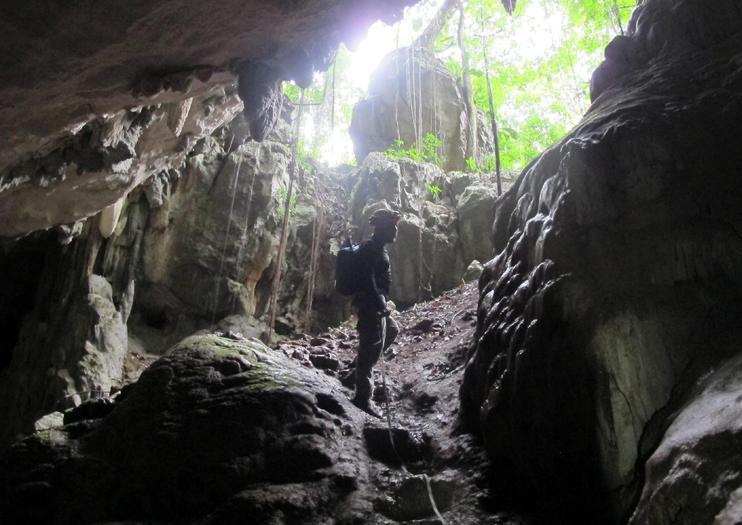 Höhlensystem Crystal Cave (Mountain Cow Cave)