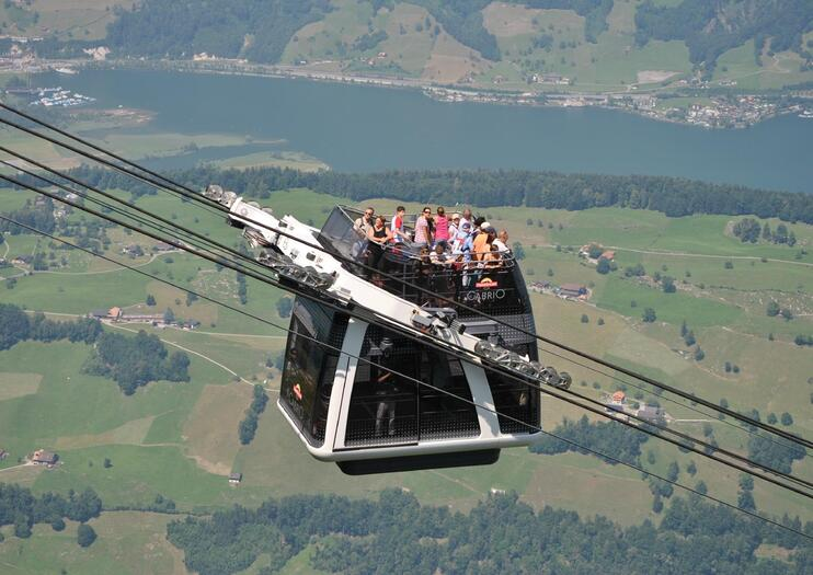 Mt. Stanserhorn CabriO Cable Car