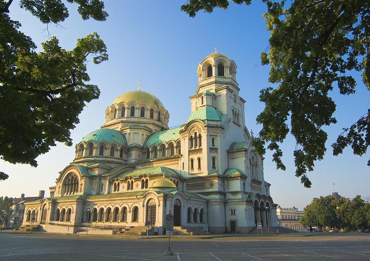 La cathédrale Alexandre-Nevski