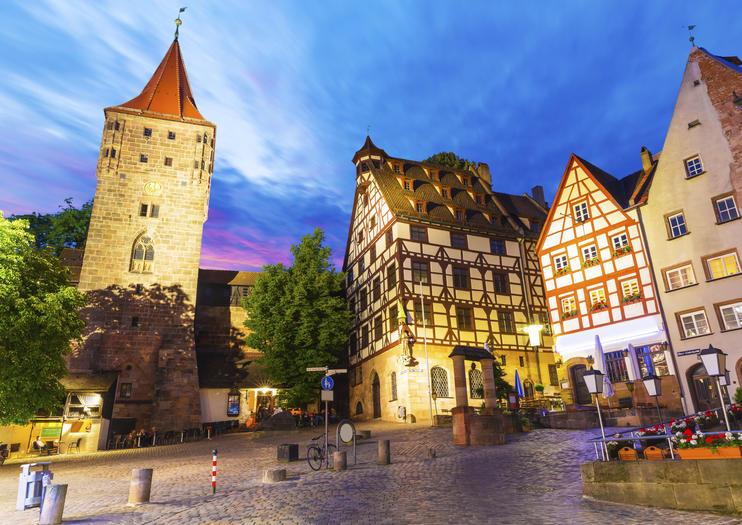 Exploring Nuremberg Old Town on Foot