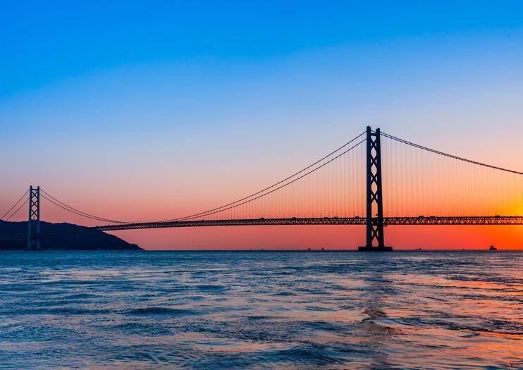Akashi-Kaikyō-Brücke (Perlenbrücke)