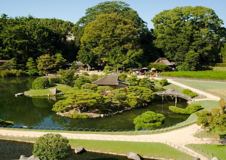 Jardin Okayama Korakuen