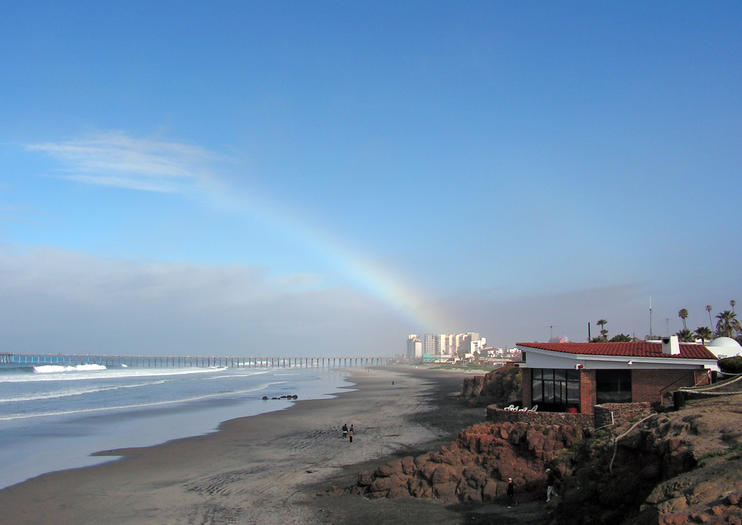Rosarito Beach Is A Mexican Resort Town That S About 30 Minutes South Of San Go Known For Its Beaches And Nightlife Close Proximity To The