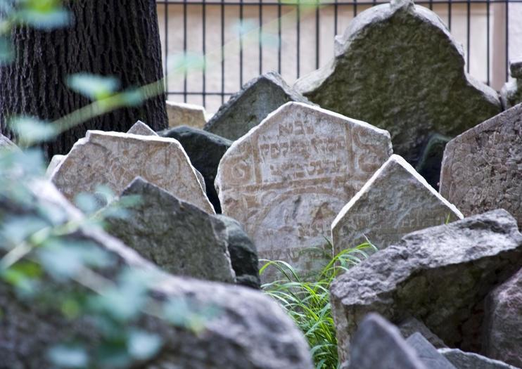 Le vieux cimetière juif