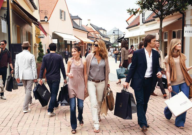 Luxury Shopping in Marne-La-Vallée