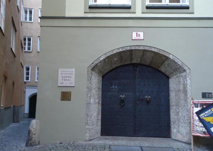 Memorial Georg Trakl (Traklhouse)