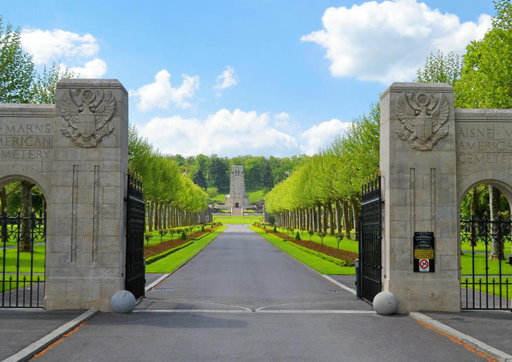 Cemitério Americano de Aisne-Marne.