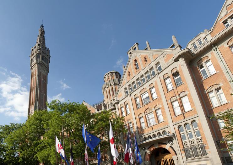 Lille Town Hall and Belfry (Beffroi de l'Hôtel de Ville de Lille)