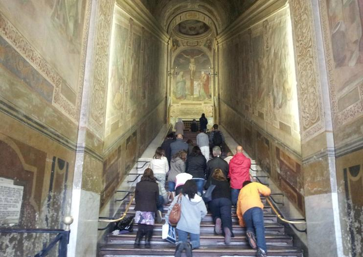 Holy Stairs (Scala Sancta) and Chapel of San Lorenzo