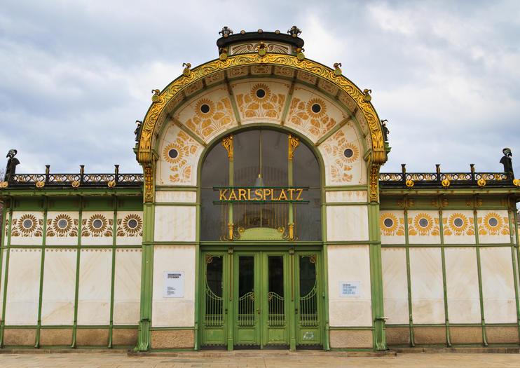 Pabellón Karlsplatz de Otto Wagner