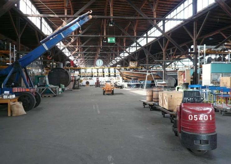 Hafenmuseum de Hambourg