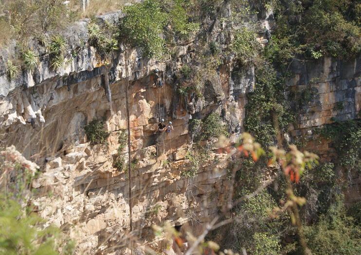 La Sima de las Cotorras (Sinkhole of Parrots)