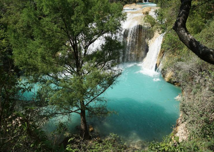 Cascadas El Chiflón (El Chiflón Waterfalls)