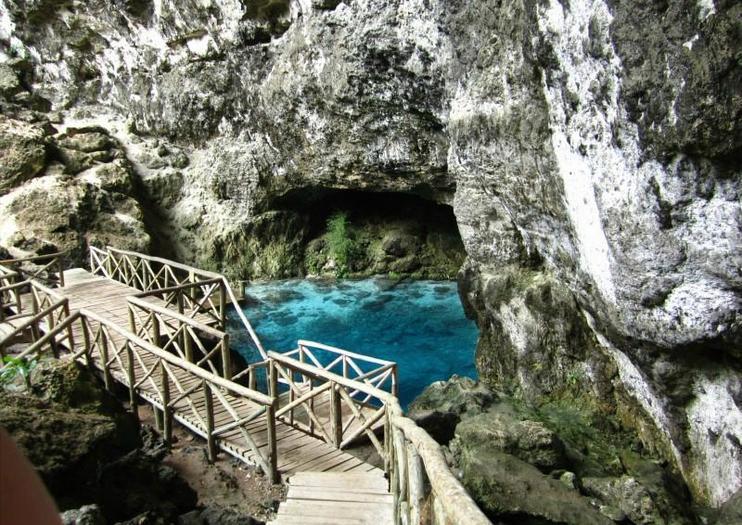 Hoyo Azul Lagoon