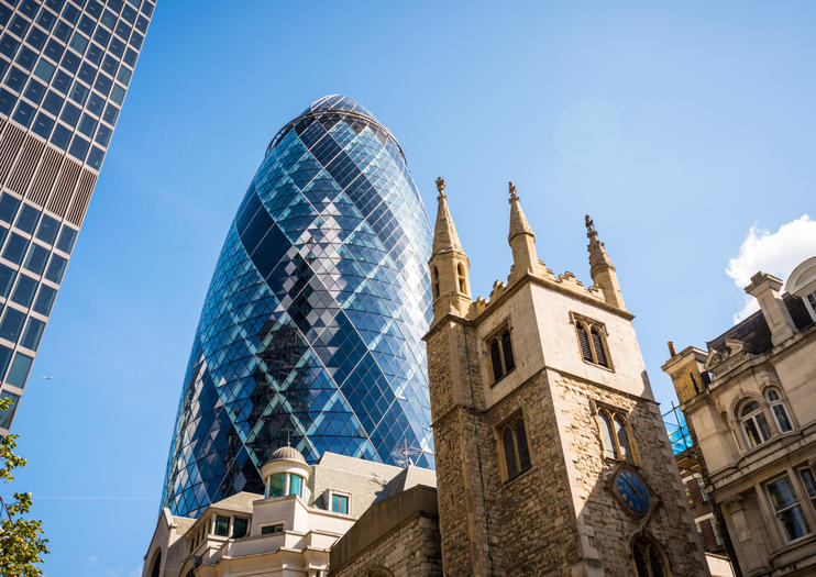 The Gherkin (30 St Mary Axe)