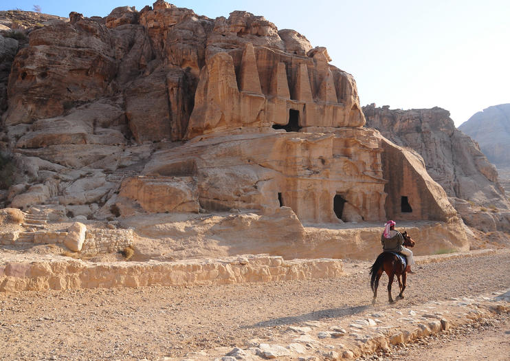 Horseback Riding in Petra