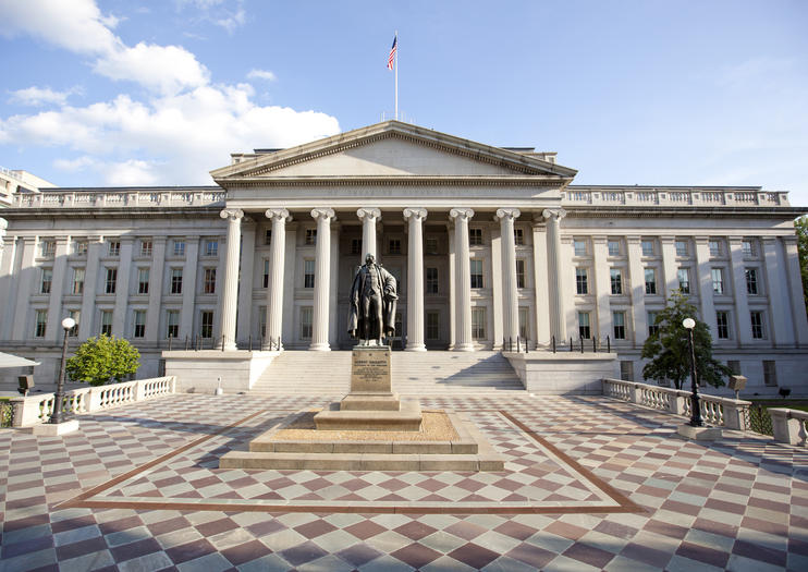 United States Treasury Building